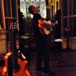 Luka Bloom plays the gothic church, Kylemore Abbey as part of Conamara Bog Week 2014 - truly a night to remember!